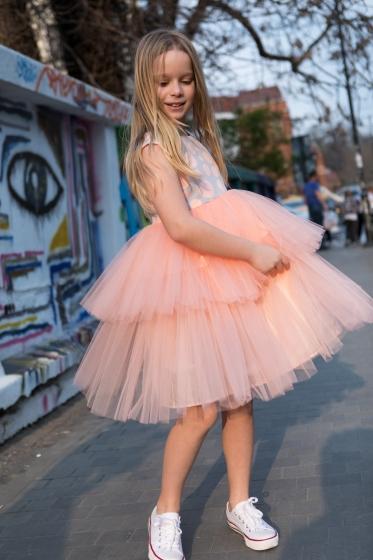 Rochite fete hey princess 215.01 roz 1-12ani