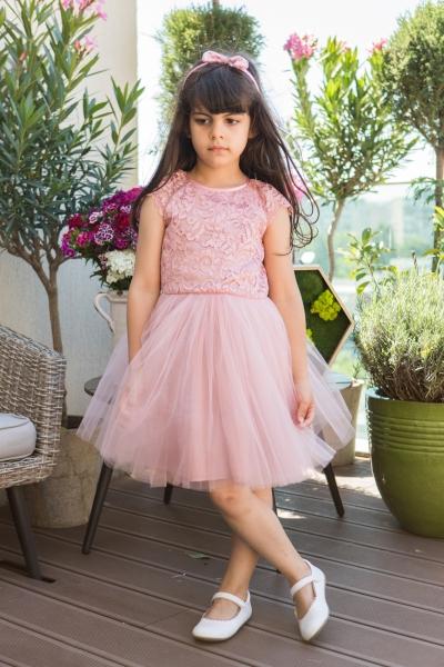 Rochite fete hey princess Lace 111.200 roz 3luni-12ani