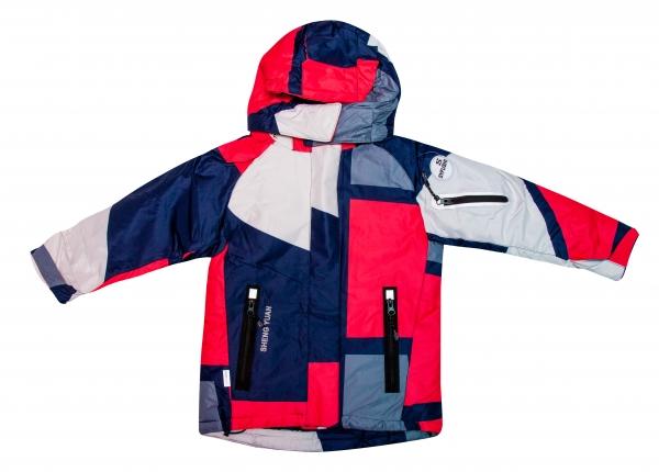 Salopete copii ski HT012 corai gri 104-152cm