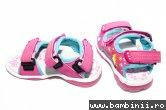 Sandale fete 308 fuxia 24-35