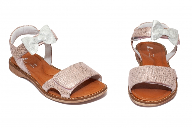 Sandale fete pj shoes Ana roz pipit 27-36