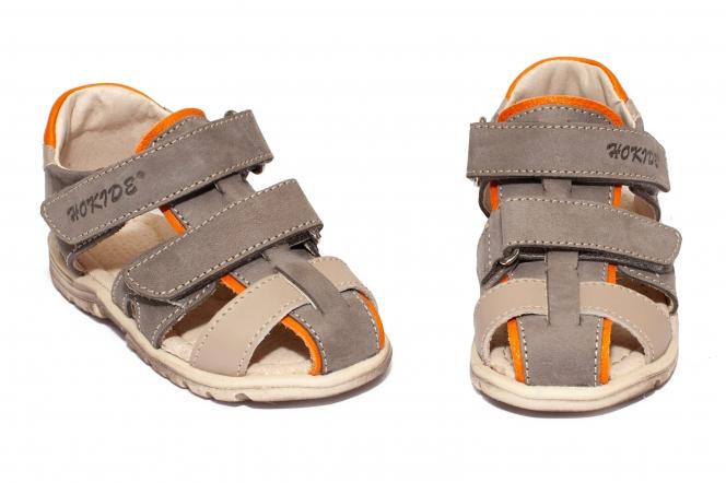 Sandalute baieti hokide picior lat 357 kaki 22-32