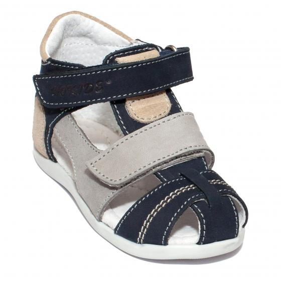 Sandalute baieti hokide picior lat 405 blu galben 18-25