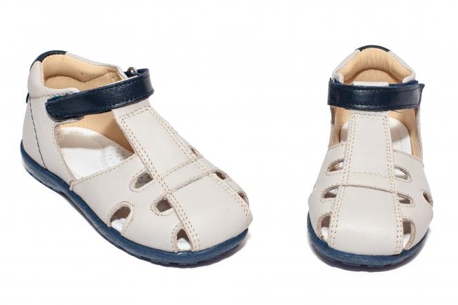 Sandalute copii avus av28 gri blu 18-30