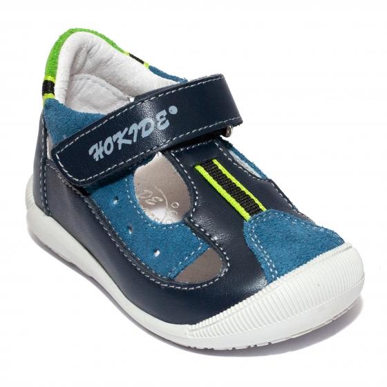 Sandalute copii hokide 139 albastru blu 18-24