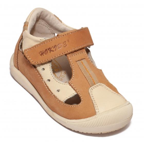Sandalute copii hokide 139 cafe bej 18-24
