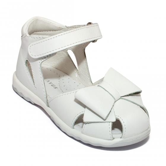 Sandalute fete avus piele 744 fuxia 19-26