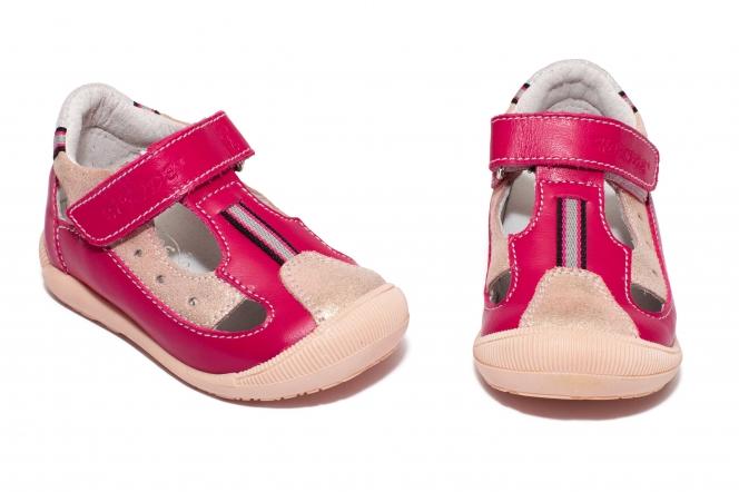 Sandalute fete hokide 139 fuxia roz 18-24