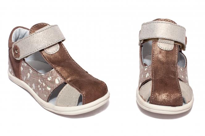 Sandalute fete pj shoes Pablo bronz lux 18-26