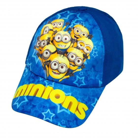 Sapca baieti Minions 3228 blu albastru 3ani-8ani