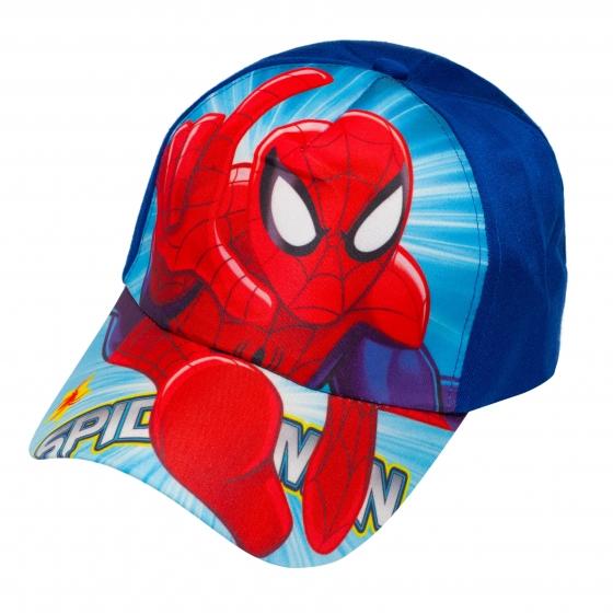 Sapca baieti Spiderman 3228 albastru 3ani-8ani