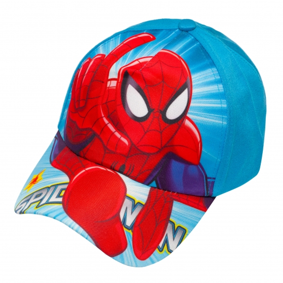 Sapca baieti Spiderman 3228 blue albastru 3ani-8ani