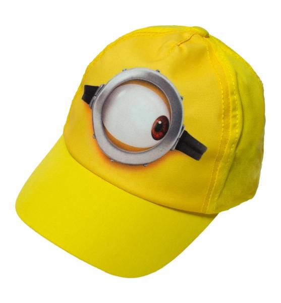Sapca copii Minions galben 48-56cm