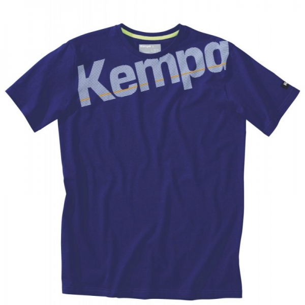 Tricouri Kempa Core copii adulti blu 2XS-3XL
