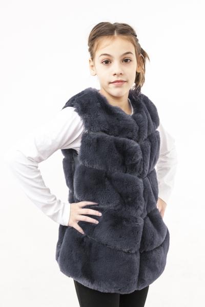 Veste fete blana 2525 gri 110-180cm