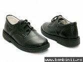 Pantofi copii  - Pantofi copii Denis negru gros