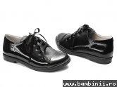 Pantofi piele diana 533 negru lac