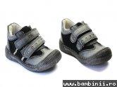 Pantofi sport copii 557 negru-gri